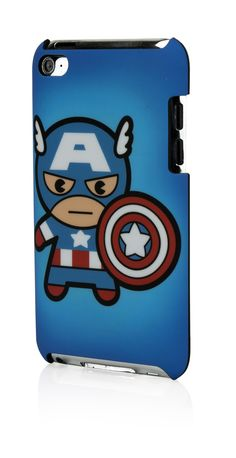 Marvel Case Kawaii Line: Captain America para iPod touch 4G en #iStoreMexico