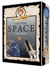 Outer Space Trivia Card Game - one in a series of fun and educational trivia games from Professor Noggin. For home schoolers, or just for fun. Space Games For Kids, Card Games For Kids, Star Citizen, Constellation Activities, Cube Games, Outer Space Party, Logic Games, Educational Games, Book Activities