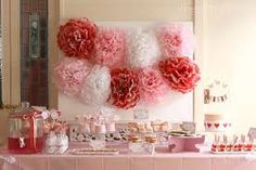 Image result for red and pink party theme