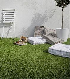 The Famous Click-Deck Carrelage de gazon artificiel pour terrasse toit gazon artificiel jacuzzi balcon