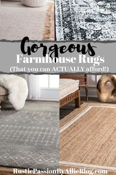 37 Farmhouse Rugs Ideas Farmhouse Rugs Rugs Rugs In Living Room