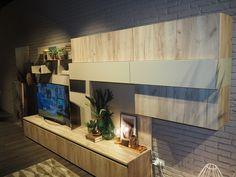 K002 PW Grey Craft Oak by LUBE Industries s.r.l at Milan Furniture Fair 2016