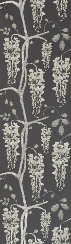 Wisteria Shadow - Artisanal Wallpaper from The Wallpaper Collective