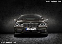 BMW M760Li xDrive 2017 poster, #poster, #mousepad, #tshirt