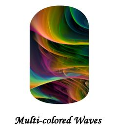 My Jamberry Wraps NAS multi-colored waves #jamberry #gabbysjams Contact me if you are interested in purchasing them: https://www.facebook.com/groups/gabbysjamsnasdesigns/ or gabbysjams@gmail.com or https://www.facebook.com/gabbysjams/