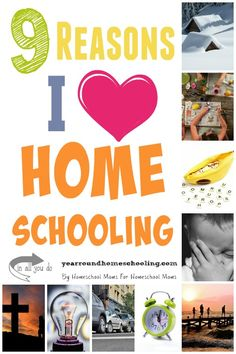 Homeschooling can be exhausting. But there are 9 things I *love* about homeschooling no matter what!! :: www.yearroundhomeschooling.com