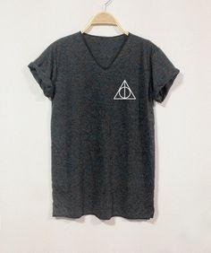 RELIQUES de la mort Shirt Harry Potter chemises par finteetank