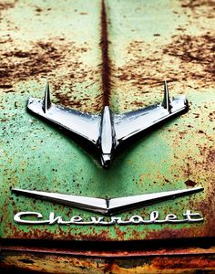 Examples of lost glory ... Chevrolets rusting away and forgotten