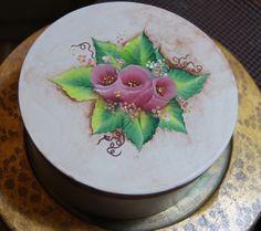 Hand Painted box, by Shahrzad Vaziri