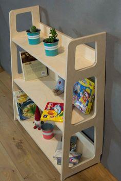 Montessori bookcase Toy shelf Modern bookcase Toddler | Etsy Contemporary Bookcase, Modern Bookcase, Modern Shelving, Toy Shelves, Wooden Shelves, Kids Furniture, Modern Furniture, Childrens Bookcase, Used Cabinets