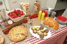 Americana July Birthday Party Food - Heather G. Young