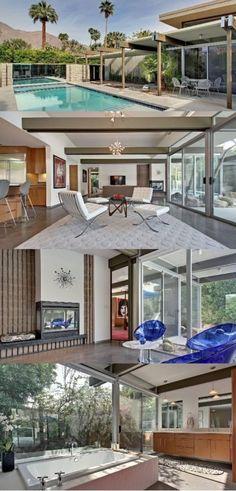 International Style Revival Wexler Home, Palm Springs