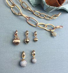 Love bracelets with dew drops in gold and diamonds #lovebracelet #dewdrops #finejewelry @olelynggaardcopenhagen #diamonds