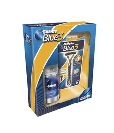 Gillette Blue 3 zestaw