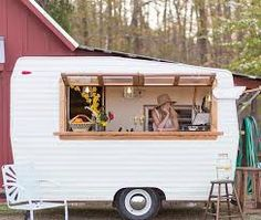 Image result for wood interior food truck