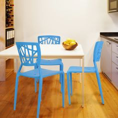 AdecoTrading Stacking Dining Side Chair | AllModern