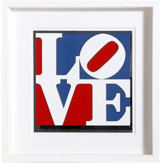 The American Love by Robert Indiana (Enamel on Aluminum)
