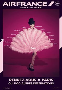 air france travel 2014 campaign3 Air Frances New Campaign Takes You on a Fashionable Tour