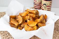 Receta fácil con explicación detallada y fotografías de cada uno de los pasos a seguir para preparar unas riquísimas patatas Cajún.
