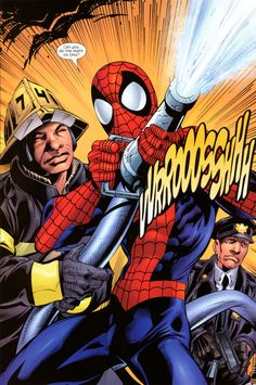 Resultado de imagen para the amazing spider man mark bagley Spider Book, Spider Verse, Spiderman Art, Amazing Spiderman, Marvel Vs, Marvel Comics, Mark Bagley, Ultimate Marvel, Sketch Inspiration