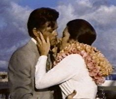 """Jack Lord and Marj Dusay, """"Hawaii Five-0,"""" 1969. """"The Singapore File""""- The 'STEVE/NICOLE' romance expanded during the series would have been magical."""
