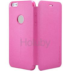 Nillkin New Leather Case  Sparkle Series Ultrathin Side Flip PC+PU Leather Case with Card Slot for iPhone 6 6S 4.7 inch(Rose)