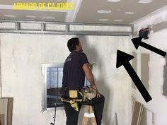 durlock colocacion / construccion de cajones - YouTube Ceiling Design Living Room, Living Room Designs, Steel Framing, Drywall, House Rooms, Autocad, Desk, Ceiling Lights, Interior