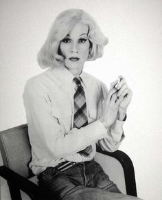 Andy Warhol, photo by Christopher Makos