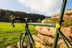 Electrolyte Wilderer. Hand made steel frame race bike of its best.