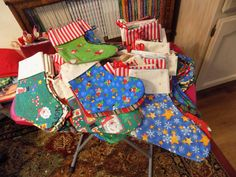 Anne and her friends made these for Little Singer Community School for Christmas…