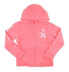 OshKosh sweater, peach hoodie, hoodie for girls