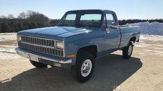 1982 Chevrolet C/k 2500 4x4   K8   Davenport 2020 Tire Steps, Antique Trucks, New Tyres, Tractors, 4x4, Chevrolet, Auction