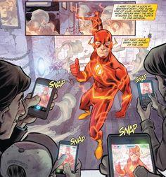 The Flash. Francis Manapul.