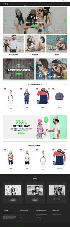 Fashion for Men and Women Responsive