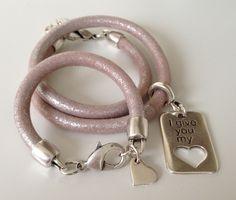 Moeder en Dochter Set Pink Silver