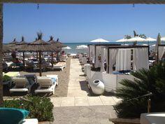 Playa Miguel Beach Club en Torremolinos, Andalucía
