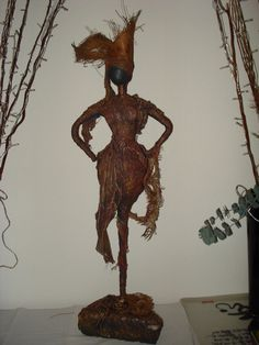 """Earth Mother"" by SherLizz (inspired by the statues of Merilyn Thomas (November 2010)"