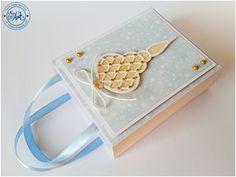 Blog Craft Passion: KURS - mała torebka na prezent / DIY - small gift bag