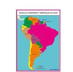 Continent «Amérique du Sud»