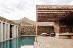 Photo 5 of 7 in These Eco-Minded Villas in Cabo Verde Are the Perfect Place to Escape Winter Blues - Dwell Cabo, Villas, Cap Vert, Journal Du Design, Verde Island, Luxury Holidays, Luxury Villa, Perfect Place, Barefoot