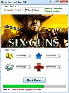 six guns hack