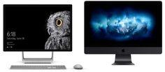 iMac Pro vs Microsoft Surface Studio