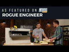 Getting to Know Rogue Engineer + DIY Hidden Shelf Project Hidden Shelf, Hidden Storage, Pallet Projects, Woodworking Projects, Diy Projects, Floating Shelves, How To Plan, Modern, Engineer