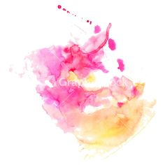 Abstract Hand Drawn Watercolor Background Stock Image
