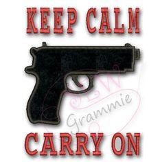 SALE Bin : Keep Calm Carry On
