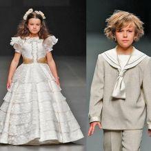 Элегантно-романтический наряд для детей на свадьбу