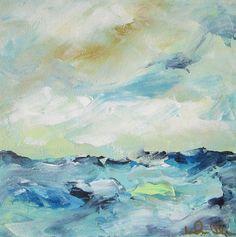 Abstract Ocean Seascape