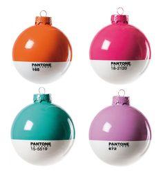 #Design Esferas pantone, para la siguiente navidad ;)