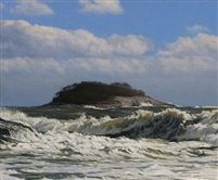 The Wave (Sold) by Peter Bergeron