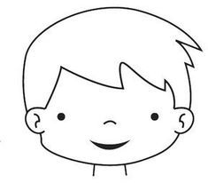 Dibujo De Una Cabeza Para Imprimir Y Pintar Preschool And